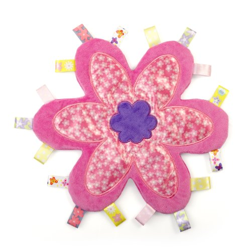 Taggies Flower Me Fun Blanket (Discontinued by Manufacturer) - 1