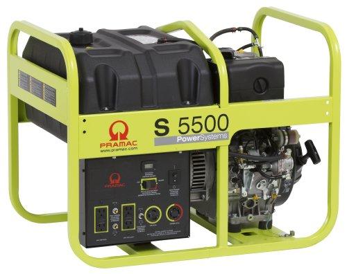 Pramac Pd502M9A001 Diesel Portable Generator With Electric Start, 5500-Watt