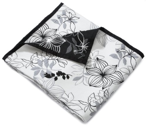 Hagemann Lis - Manta 250 x 160cm, color negro