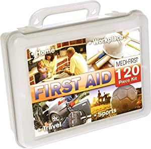 Medique 40120 Multi-Purpose First Aid Kit, 120-Piece by Medique
