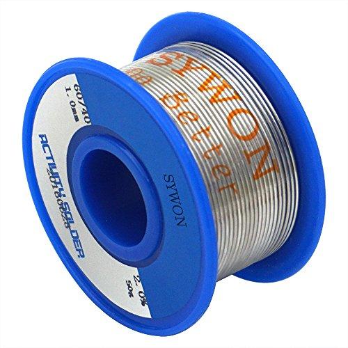 sywon-60-40-rosin-core-spool-solder-wire-0039-011lb