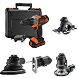 Black   Decker MT218K-GB 18 V Multievo Multi-Tool with Drill