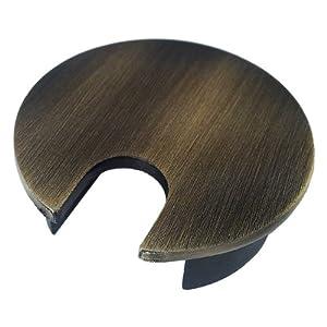 Amazon Com Metal Desk Grommet Color Brushed Bronze