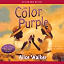 The Color Purple Hörbuch von Alice Walker Gesprochen von: Alice Walker