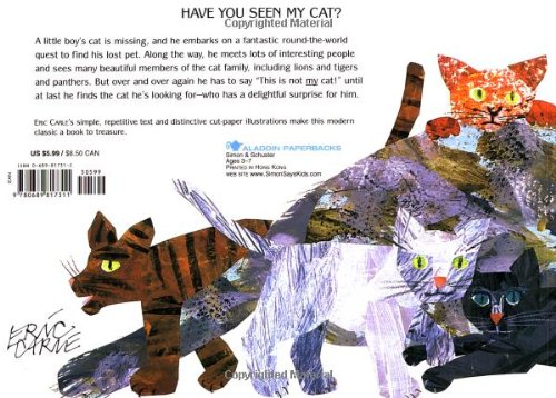 Have You Seen My Cat? (Aladdin Picture Books)
