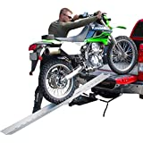 "82"" Portable Aluminum Folding Off-Road Motocross Loading Ramp"