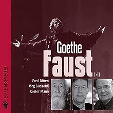 Faust I + II (       ungekürzt) von Johann Wolfgang von Goethe Gesprochen von: Fred Düren, Jörg Gudzuhn, Dieter Mann