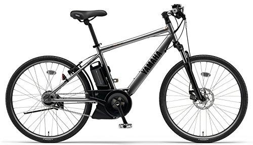 YAMAHA(ヤマハ) PAS Brace XL 電動自転車 26インチ 2015年モデル [新ドライブユニット、12.8Ahリチウムイオン電池、液晶マルチファンクションメーター] ソガンメタリック PA26B