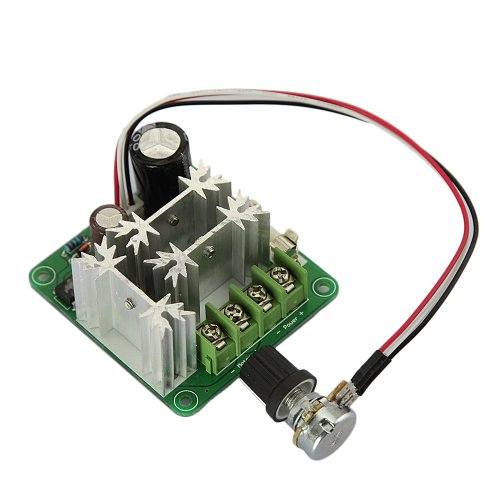 Tabstore 16Khz Pulse Width Pwm Dc Motor Speed Controller Switch 1000W 15A 6V-90V 1000W Maximum Output Power 0-100% Duty Cycle Adjustable