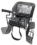 SAGISAKA(サギサカ) チャイルドシート 自転車後用幼児座席 ガンメタ 47351