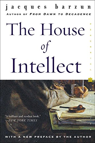 House of Intellect, The (Perennial Classics)
