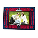 MLB St. Louis Cardinals Art Glass Horizontal Frame