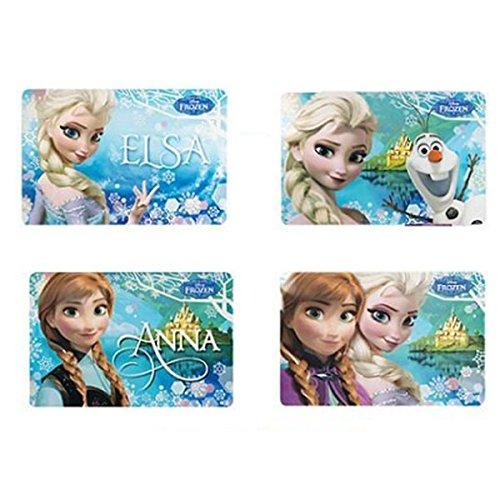 Disney Frozen Set 4 Tovagliette con i 4 modelli in foto