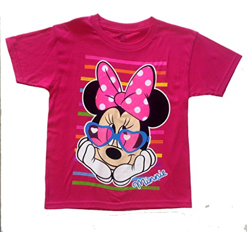 "Disney Minnie Mouse ""Sunglasses"" Graphic T-shirt (L) Size 12-14"