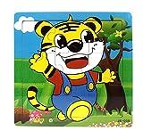 Ularma Lindo Juguetes de madera de los cabritos Jigsaw para la educaci�n de los ni�os y Puzzles juguetes de aprendizaje (multicolor5)