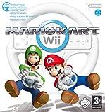 für Zocker: Mario Kart Wii (inkl. Wii Wheel – Lenkrad)