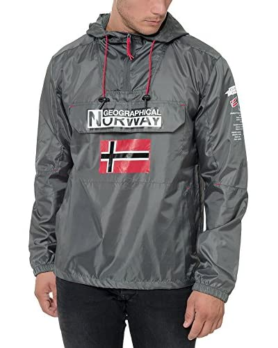 Geographical Norway Chaqueta Impermeable Brest Antracita