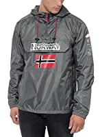 Geographical Norway Chaqueta Impermeable Brest (Antracita)