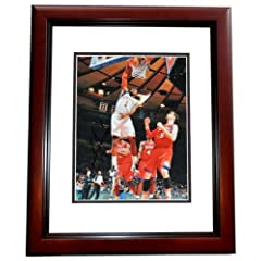Amare Stoudemire Autographed Hand Signed New York Knicks 11x14 Photo MAHOGANY CUSTOM... by Real Deal Memorabilia