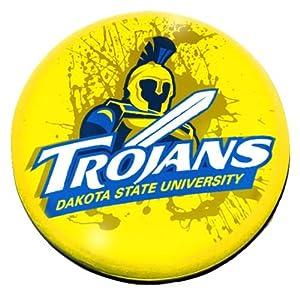 "Amazon.com : NCAA Dakota State Trojans logo in 2"" Crystal"