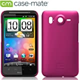 Case-Mate SoftBank 001HT / HTC Desire HD Barely There Case with Screen Protector, Matte Hot Pink「ソフトバンク 001HT / HTC デザイアHD」 専用ベアリーゼア ケース (液晶保護シート つき) マット・ホット・ピンク CM012715