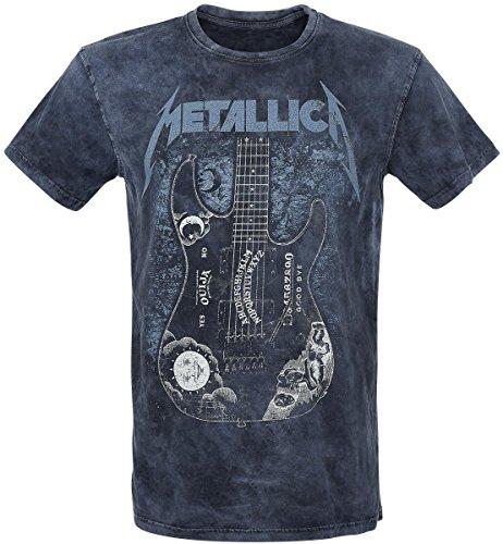 Metallica Ouija Guitar T-Shirt blu navy S
