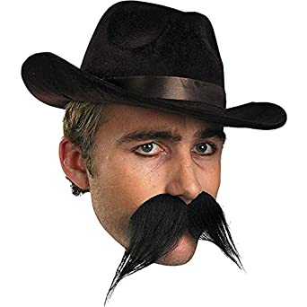 Gambler Mustache Costume Facial Hair
