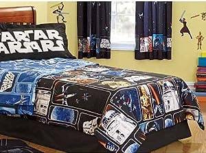 Amazon Com Lucas Films Star Wars Quot Collage Quot Comforter