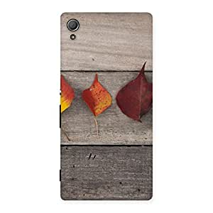 Autumn Leaves Back Case Cover for Xperia Z3 Plus