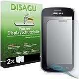 2 x DISAGU Film blindé film de protection d'écrancran pour Samsung S7390 Galaxy Trend Lite film de protection contre la casse