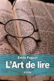 img - for L'Art de lire (French Edition) book / textbook / text book