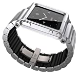 Lunatik LKSLV-010 Lynk Watch Wrist Strap for iPod Nano 6G – Silver Reviews