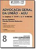 img - for Advocacia Geral da Uniao - Vol. 8 - Colecao Leis Especiais Para Concursos book / textbook / text book