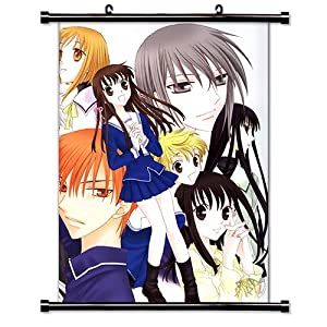 "Fruits Basket Anime Fabric Wall Scroll Poster (32"" X 43"") Inches"