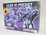 DX9 Toys War in Pocket - X-05 Tyrant & X-06 Hurricaneセット [並行輸入品]