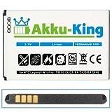 Akku-King Li-Ion Battery for HTC Wildfire G8 / A3333 / A6363 / Buzz / HTC Evo 4G / Legend G6 - replaces BA S420 / S440 - 1650mAh