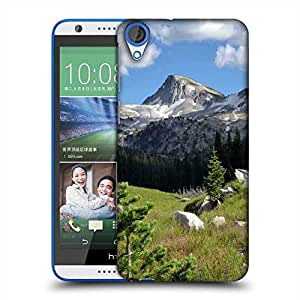 Snoogg White Stones Designer Protective Phone Back Case Cover For HTC Desire 820