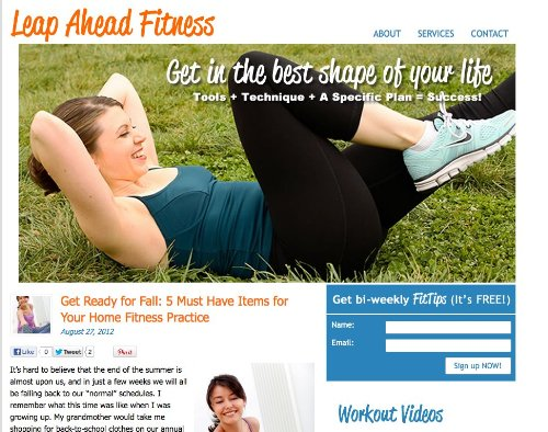 Leap Ahead Fitness
