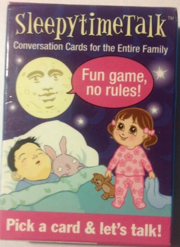 Sleepytime Talk Conversation Cards - 1