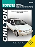 Chilton Toyota Sienna Van Automotive Repair Manual: 1998-2009 (Haynes Automotive Repair Manuals)