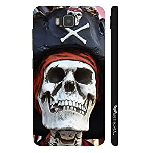 Huawei Y560 Skull Pirate designer mobile hard shell case by Enthopia