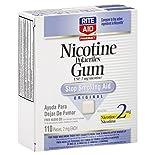 Rite Aid Pharmacy Stop Smoking Aid, 2 mg, Gum, Original, 110 pieces