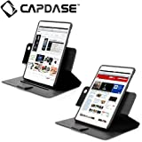 CAPDASE日本正規品 iPad mini 専用 Protective Case Flip Jacket, Black 縦置き/横置き 両対応 3段階スタンド機能つき ブックタイプ レザー調ケース 「フリップ・ジャケット」 ブラック FCAPIPADM-1U01