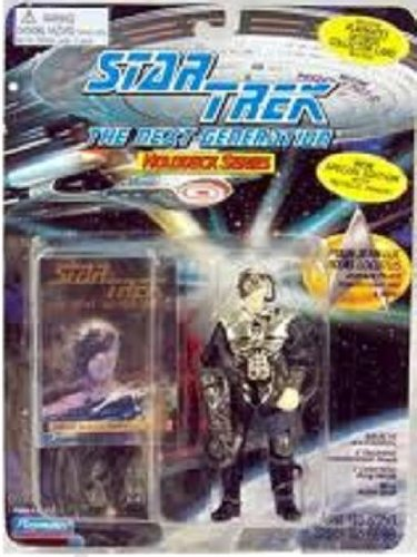 "4.5"" Captain Jean-Luc Picard As Locutus, Jean-Luc Picard Transformed Into a Borg - New Special Edition with Metallic Armor! - Star Trek: The Next Generation Holodeck Series"