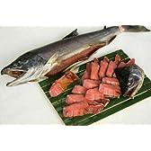 塩引鮭一尾(生時5.0kg) 【切り身にしてお届け】