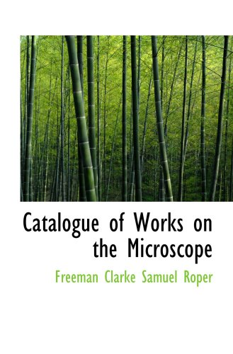 Catalogue Of Works On The Microscope