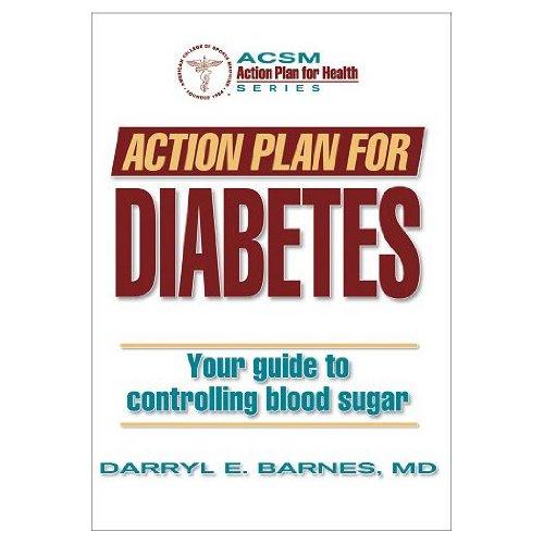 Action Plan For Diabetes (Paperback Book)