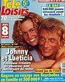TELE LOISIRS [No 590] du 16/06/1997 - JOHNNY HALLYDAY ET LAETICIA - LE BAC - LES RESULTATS - JEUX...