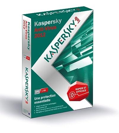 Kaspersky antivirus 2012 (3 postes, 1 an)