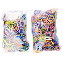 Rubber Band Bracelet Kit - Make Your Own Rubber Band Bracelets With This Monster Pack Of Loom Refills - 2 Packs...